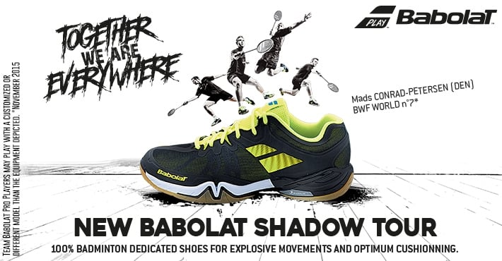 Babolat Shadow Tour Badminton Shoes