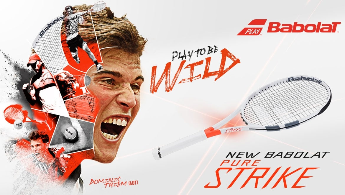 New Babolat Pure Strike Tennis Rackets 2017