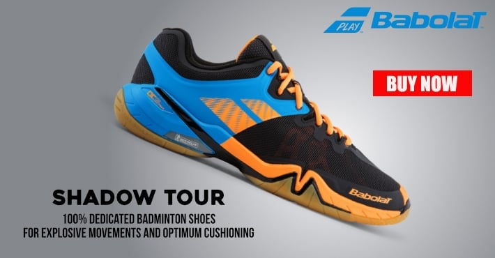 Babolat Shadow Tour 2017 Badminton Shoes