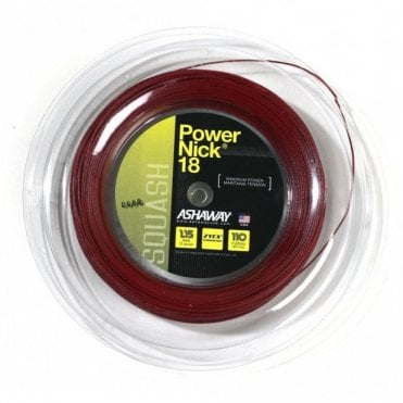 Powernick 18 Squash String 110m Reel