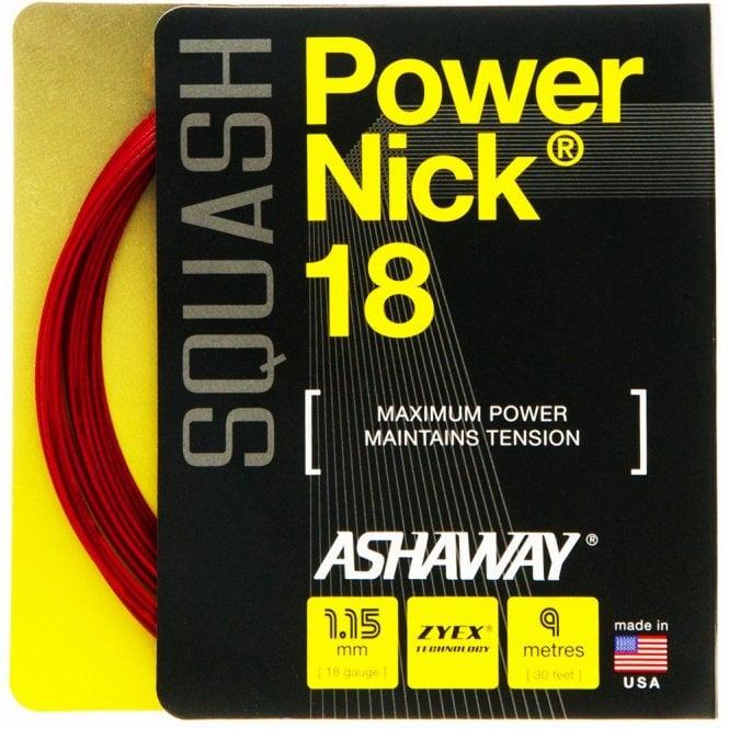 Ashaway Powernick 18 Squash String 9m Set
