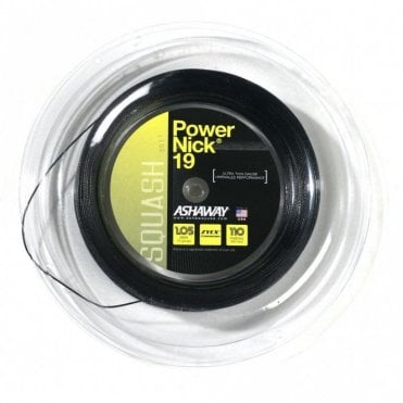 Powernick 19 Squash String 110m Reel