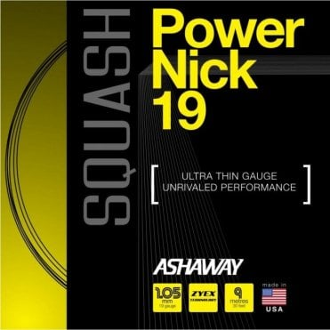 Powernick 19 Squash String 9m Set