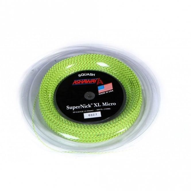 Ashaway Supernick XL Micro Squash String 110m Reel