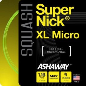 Supernick XL Micro Squash String 9m Set