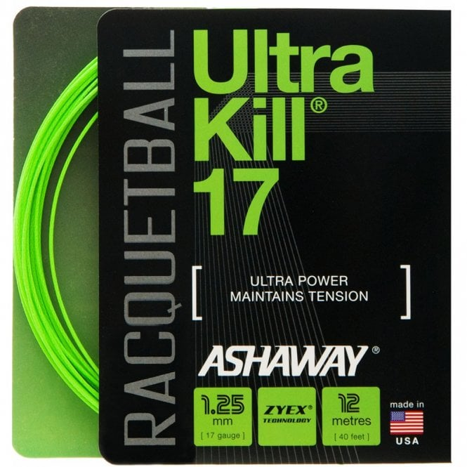 Ashaway Ultranick 17 Racketball Strin Set