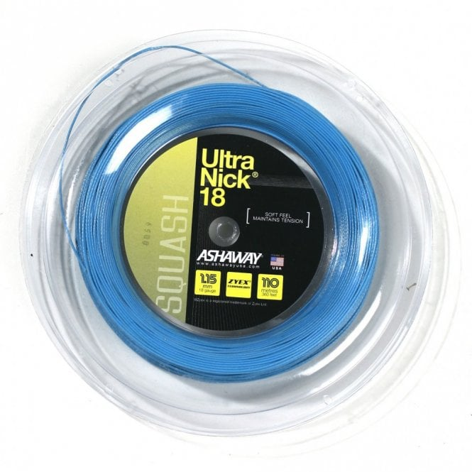 Ashaway Ultranick 18 Squash String 110m Reel