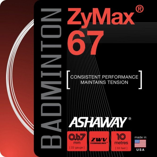 Ashaway Zymax 67 Badminton String 10m Set