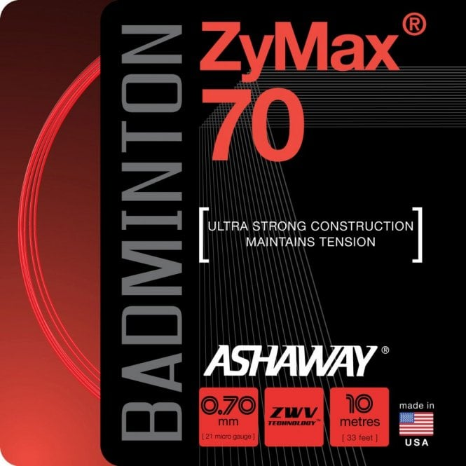 Ashaway Zymax 70 Badminton String 10m Set