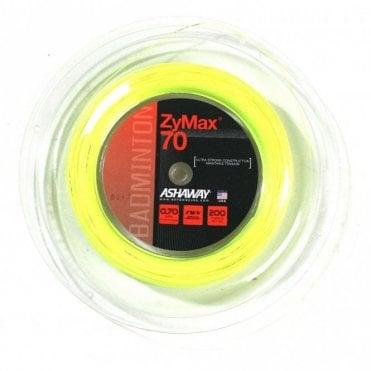 Zymax 70 Badminton String 200m Reel