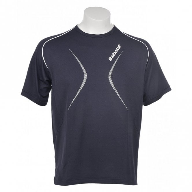 Babolat Boys Club T-Shirt - Navy Blue