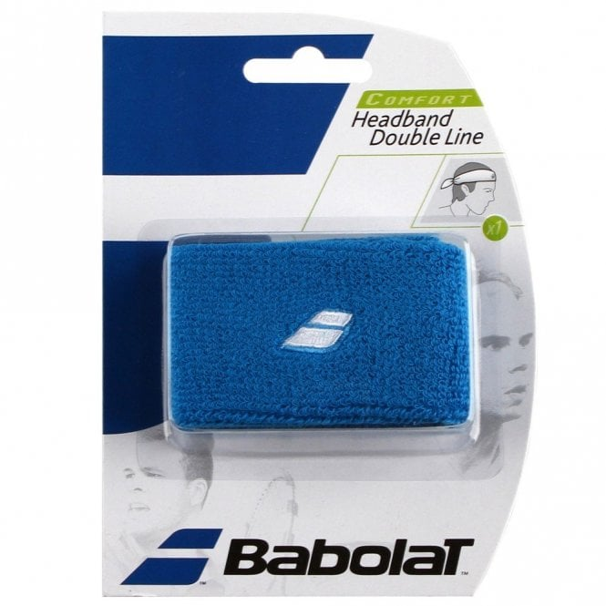 Babolat Double Line Headband sweatband Assorted Colours