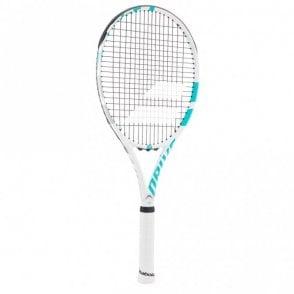 Drive G Lite W Tennis Racket White/Blue 2018