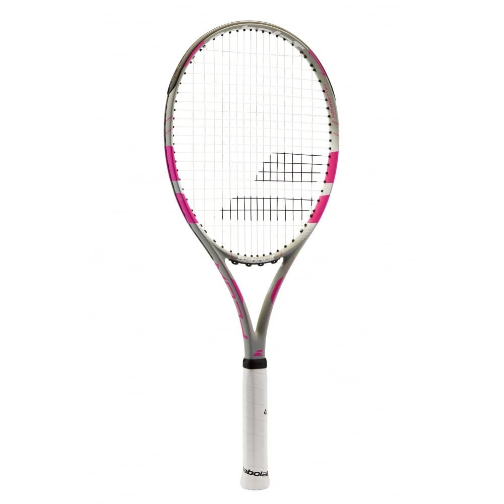 Babolat Flow Lite Pink Tennis Racket 2016 @MDG Sports Racquet