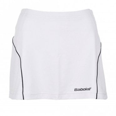 Girls Club Skort - White