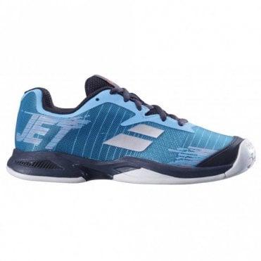 Jet All Court Junior Tennis Shoes 2019 Blue/Black