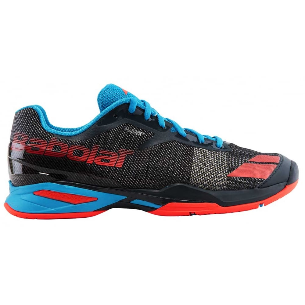 e71f3b1fcc22f Babolat Jet All Court Mens Tennis Shoes 2017 Grey/Red/Blue