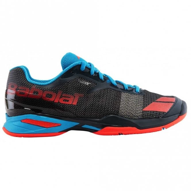 Babolat Jet All Court Mens Tennis Shoes 2017 Grey/Red/Blue