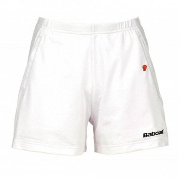 Ladies Club Shorts White