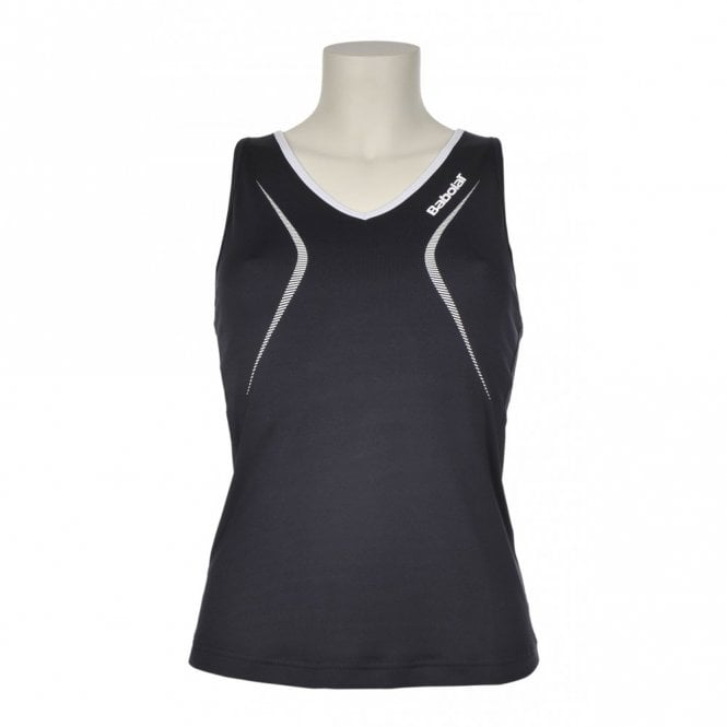 Babolat Ladies Club Tank Top - Navy Blue - Sleeveless