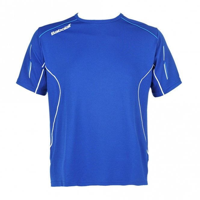Babolat Match Core Boys T-Shirt - Blue