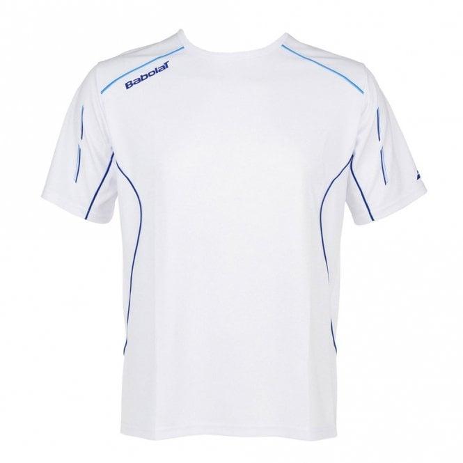 Babolat Match Core Boys T-Shirt - White