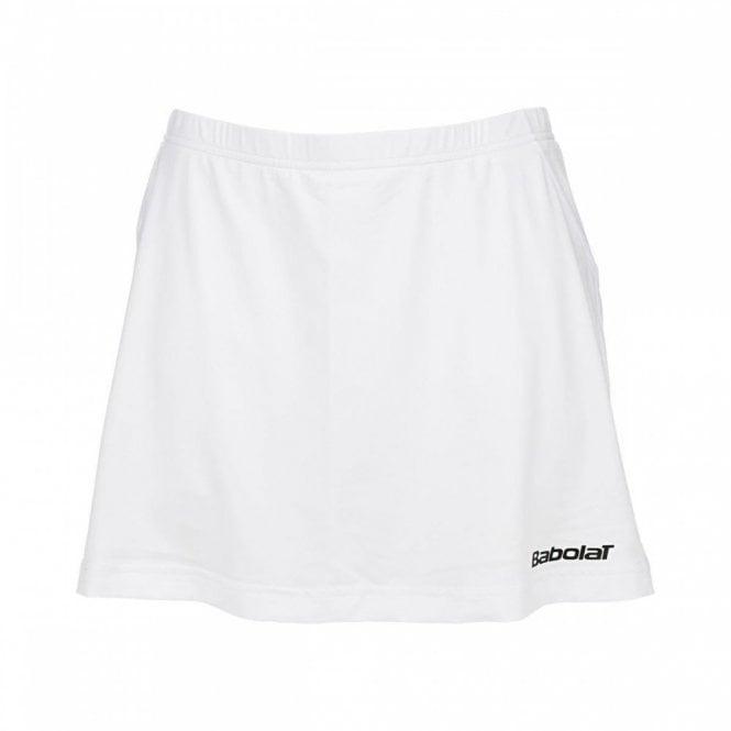 Babolat Match Core Girls Skort - White Skirt