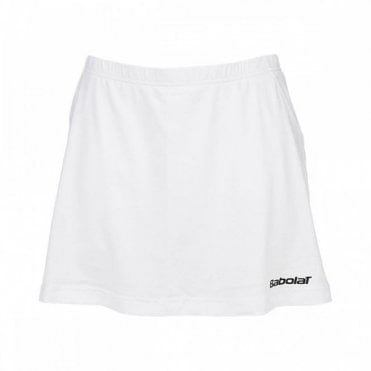 Match Core Girls Skort - White Skirt