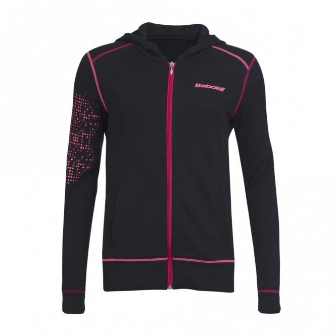 Babolat Match Performance Girls Sweat / Hoodie - Black