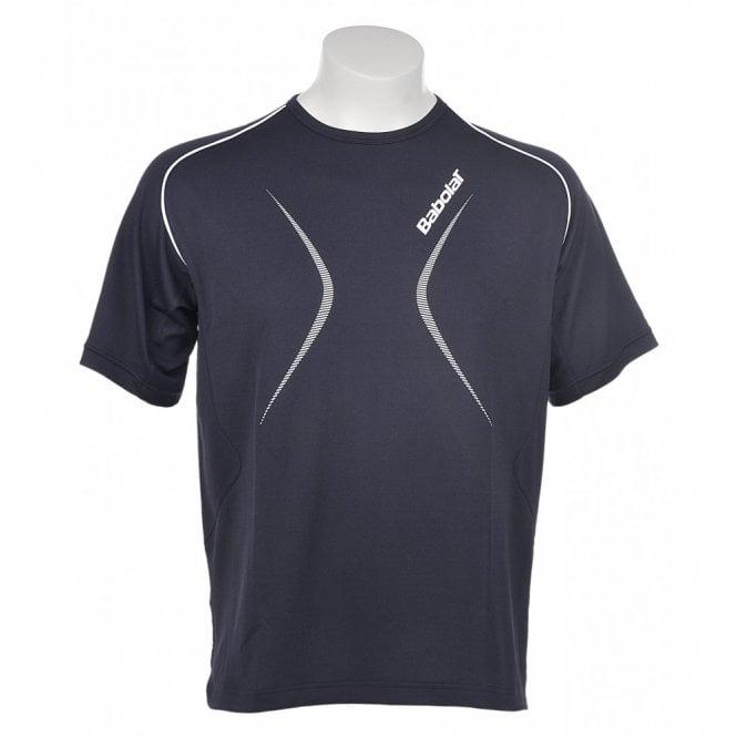 Babolat Mens Club T-Shirt - Navy Blue
