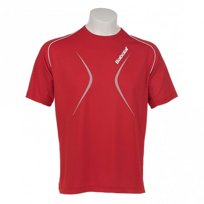 Babolat Mens Club T-Shirt - Red