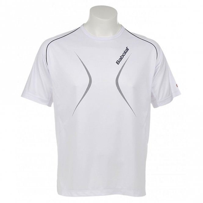 Babolat Mens Club T-Shirt - White