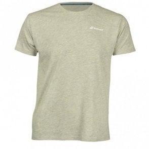 Mens Core Cotton T-Shirt Grey Tennis / Badminton