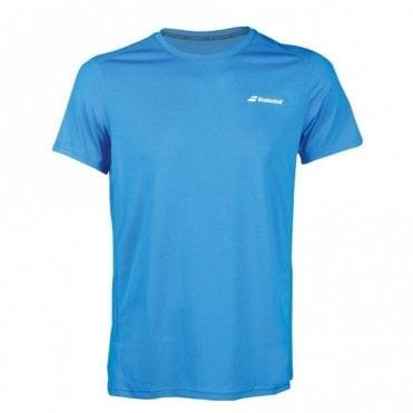 Mens Core Flag Club Tee Blue Tennis / Badminton T-Shirt