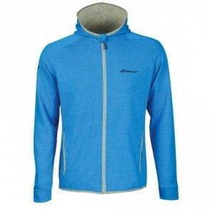 Mens Core Hood Sweat Zipped Jacket - Diva Blue