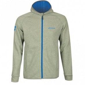 Mens Core Hood Sweat Zipped Jacket -Grey