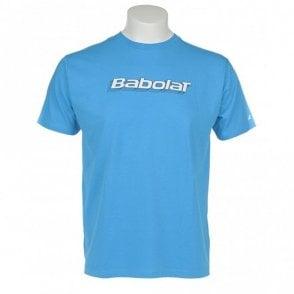Mens Training Basic T-Shirt Blue