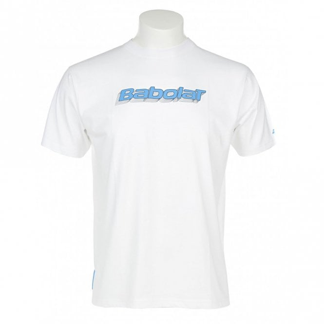 Babolat Mens Training Basic T-Shirt White