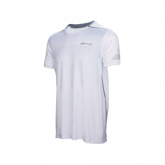 Babolat Performance Crew Neck T-Shirt 2017 White Tennis / Badminton