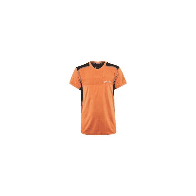 Babolat Performance V-Neck T-Shirt Orange Tennis / Badminton