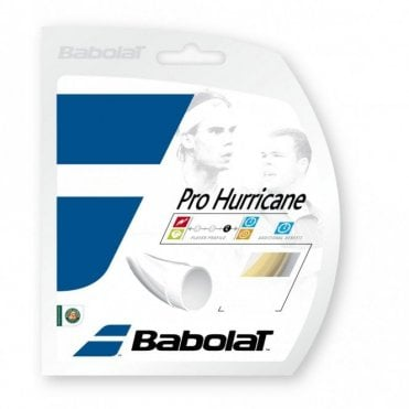 Pro Hurricane Tennis String Set 1.20mm / 1.25mm / 1.30mm / 1.35mm