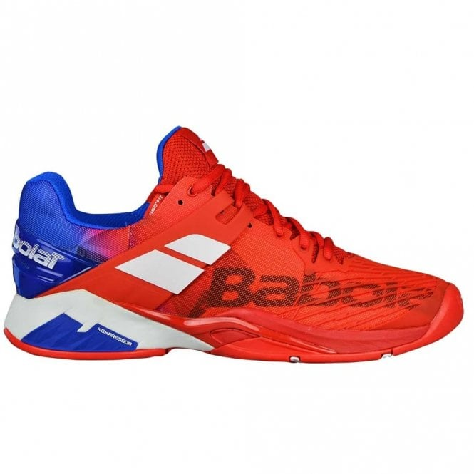 Babolat Propulse Fury All Court Mens Tennis Shoes 2018 Red