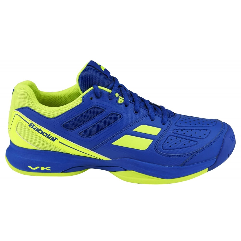Babolat Tennis Shoes >> Babolat Pulsion Bpm All Court Mens Tennis Shoes 2016 Blue Yellow