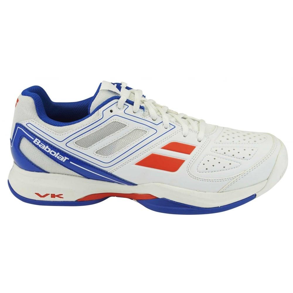 Babolat Pulsion BPM All Court Mens Tennis Shoes 2016 White ... d1db9a773b4