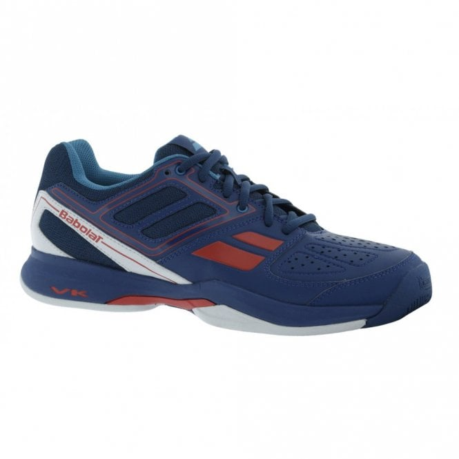 Babolat Pulsion BPM Junior Boys All Court Tennis Shoes Blue