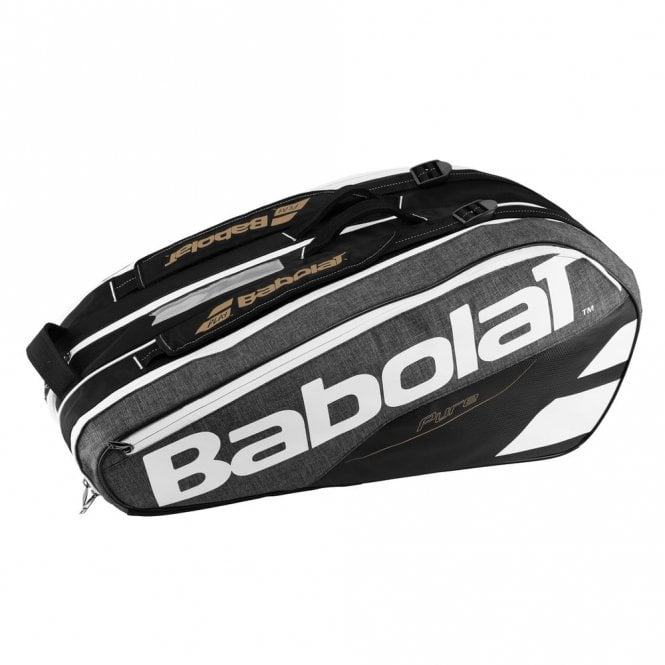 Babolat Pure Grey 9 Racket Bag 2018 Badminton / Tennis / Squash