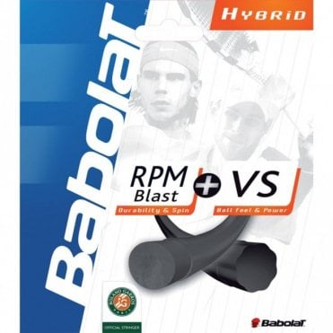 RPM Blast / VS Hybrid Tennis String Set 1.25mm / 1.30mm