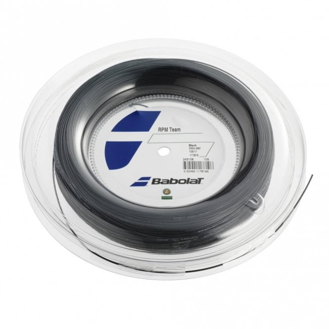 Babolat RPM Team 1.20mm / 1.25mm / 1.30mm Tennis String 200m Reel