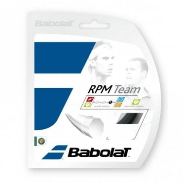 RPM Team 1.20mm / 1.25mm / 1.30mm Tennis String Set