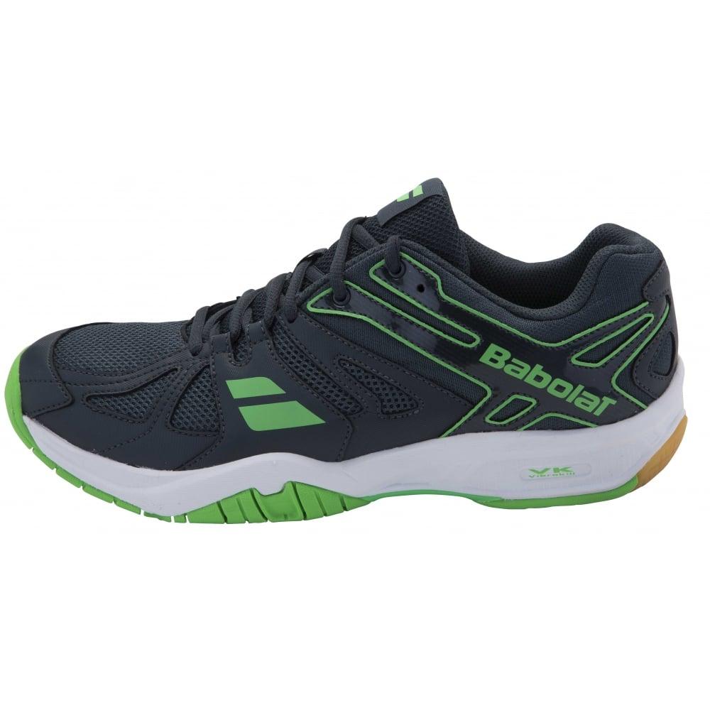 4ae2b9596a3f Babolat Shadow Team Mens Badminton Shoes 2016 Black Green ...